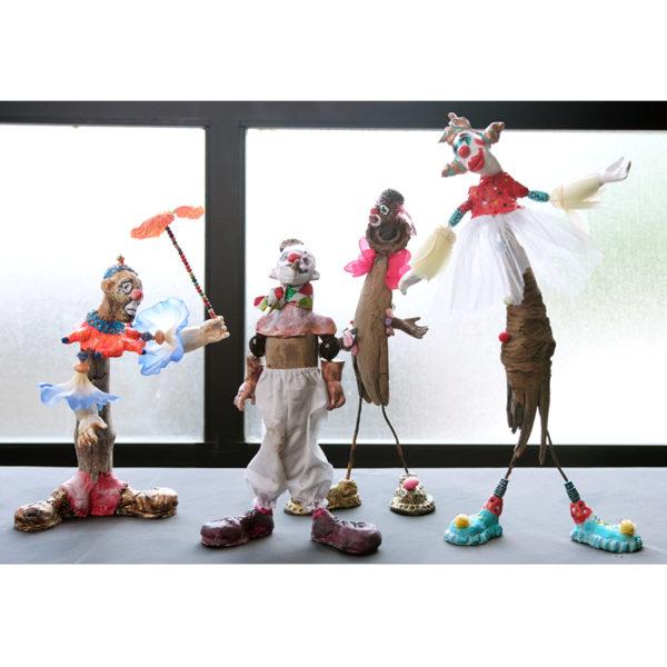 Clown Sculptures