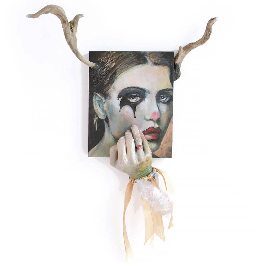 Faun Sculpture Painting