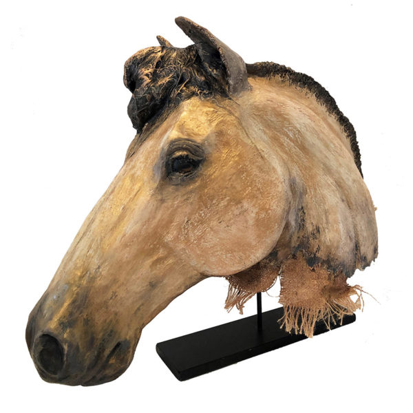 Equine Sculpture on Stand