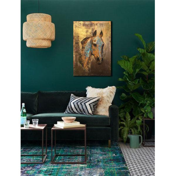 Rustic Equine in Room for Interior Design