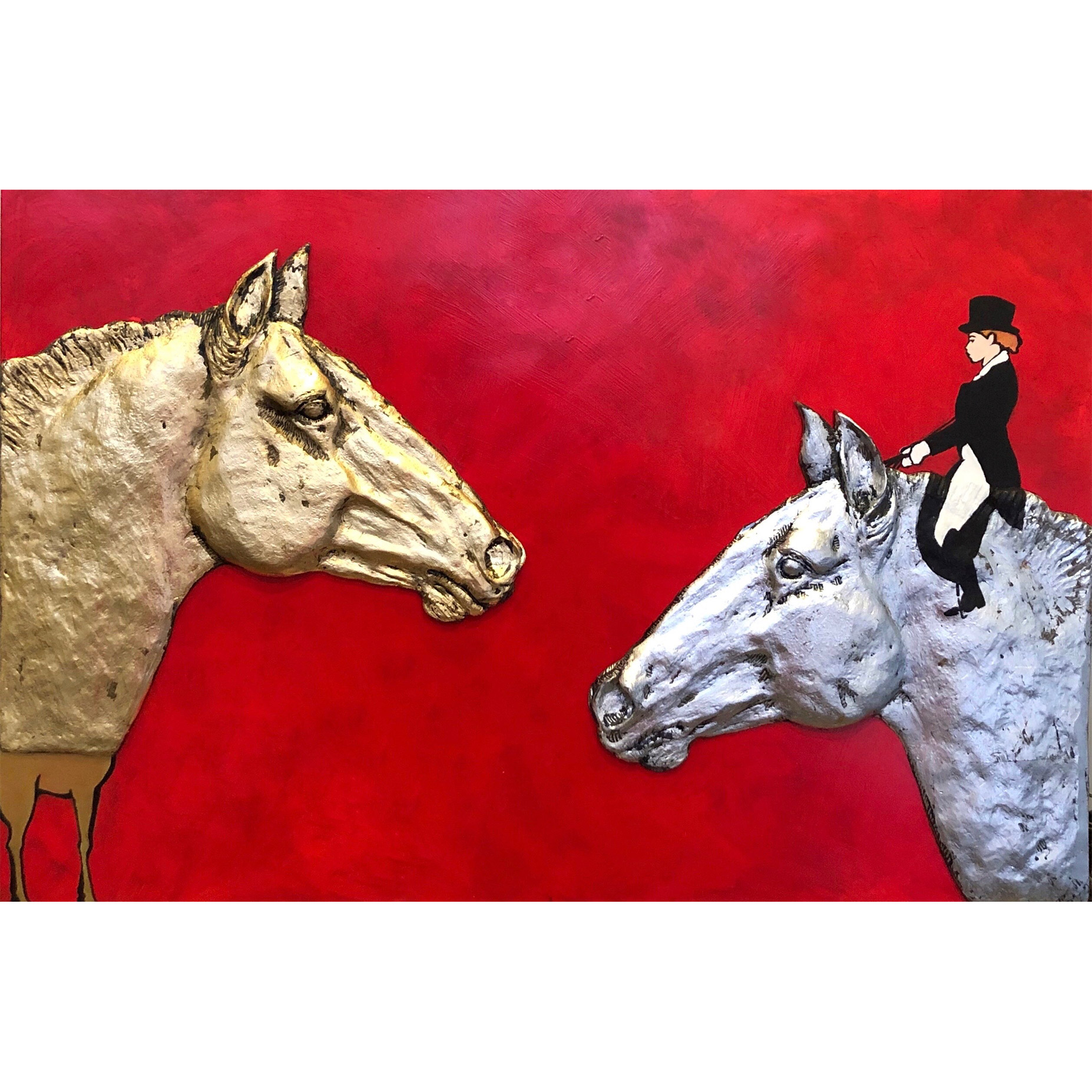 Contemporary Equine Painting