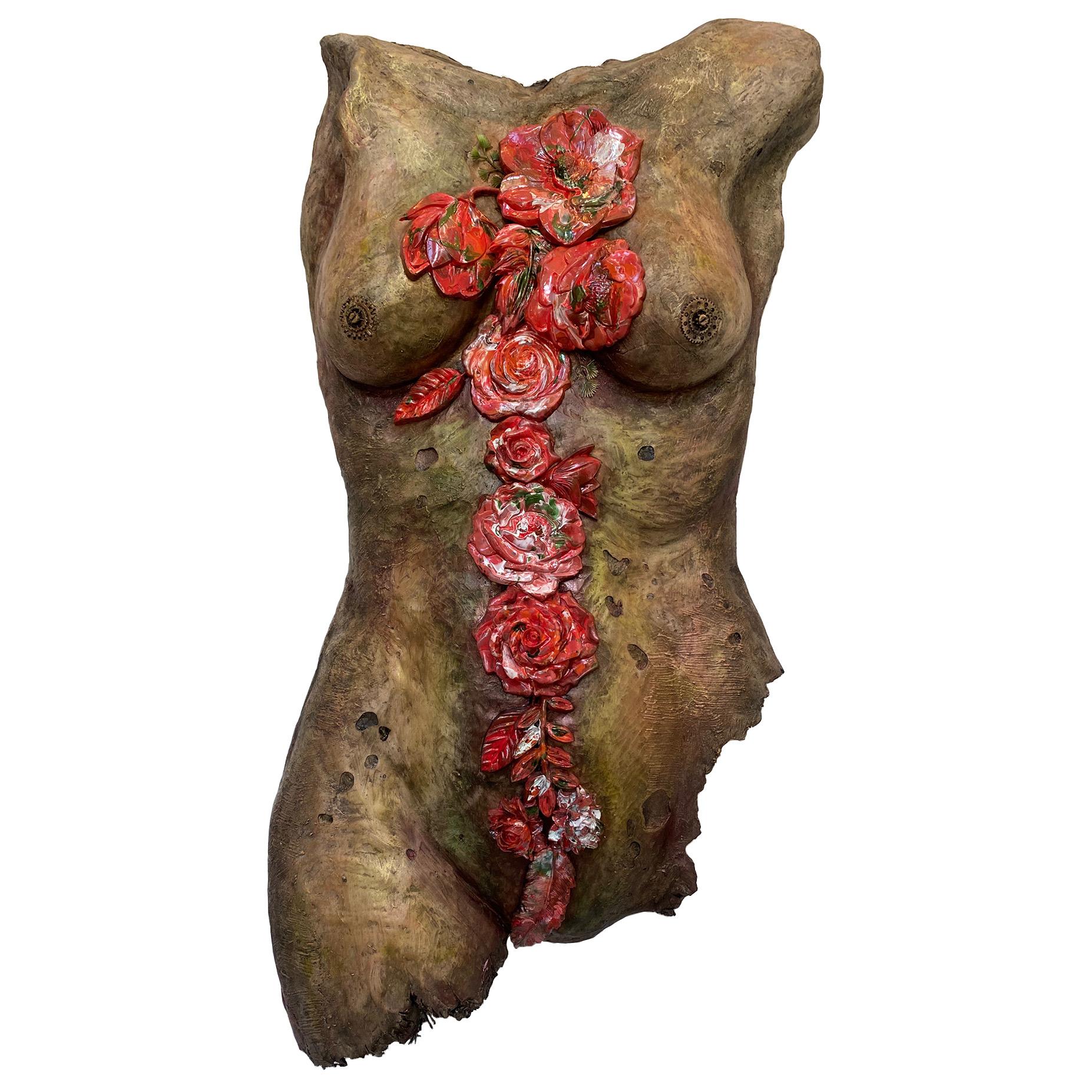 Figurative Art Sculpture, Bruised Not Broken
