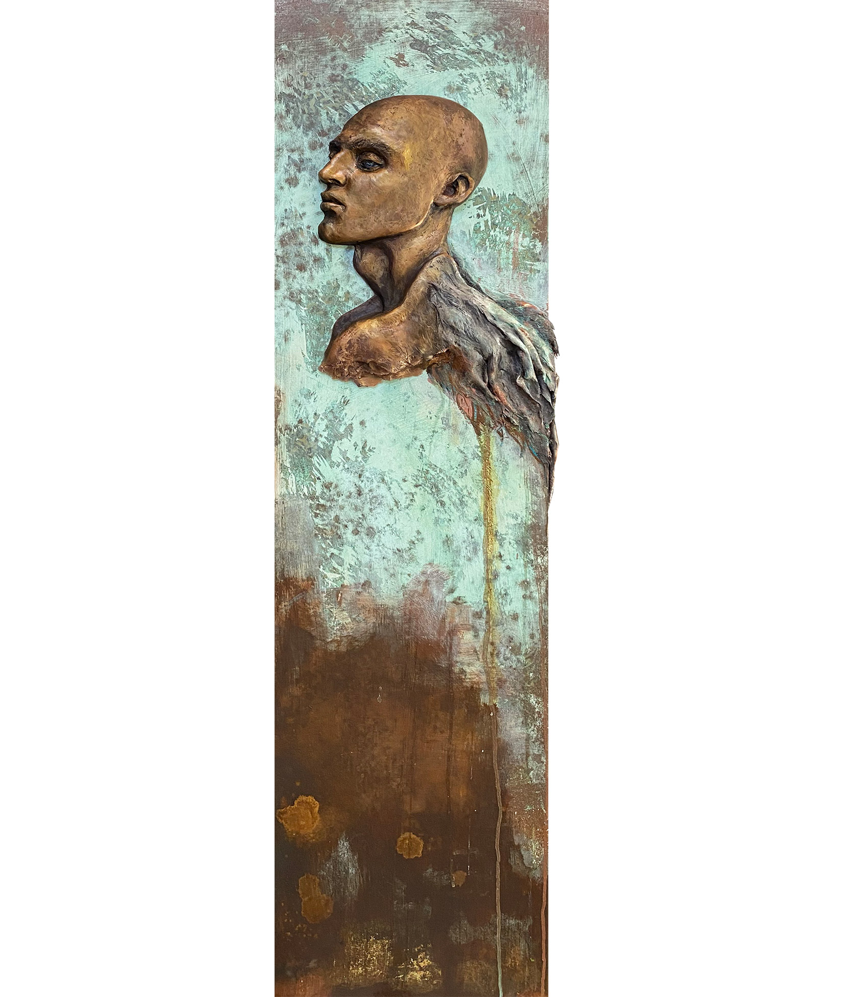 Icarus Sculptural Portrait