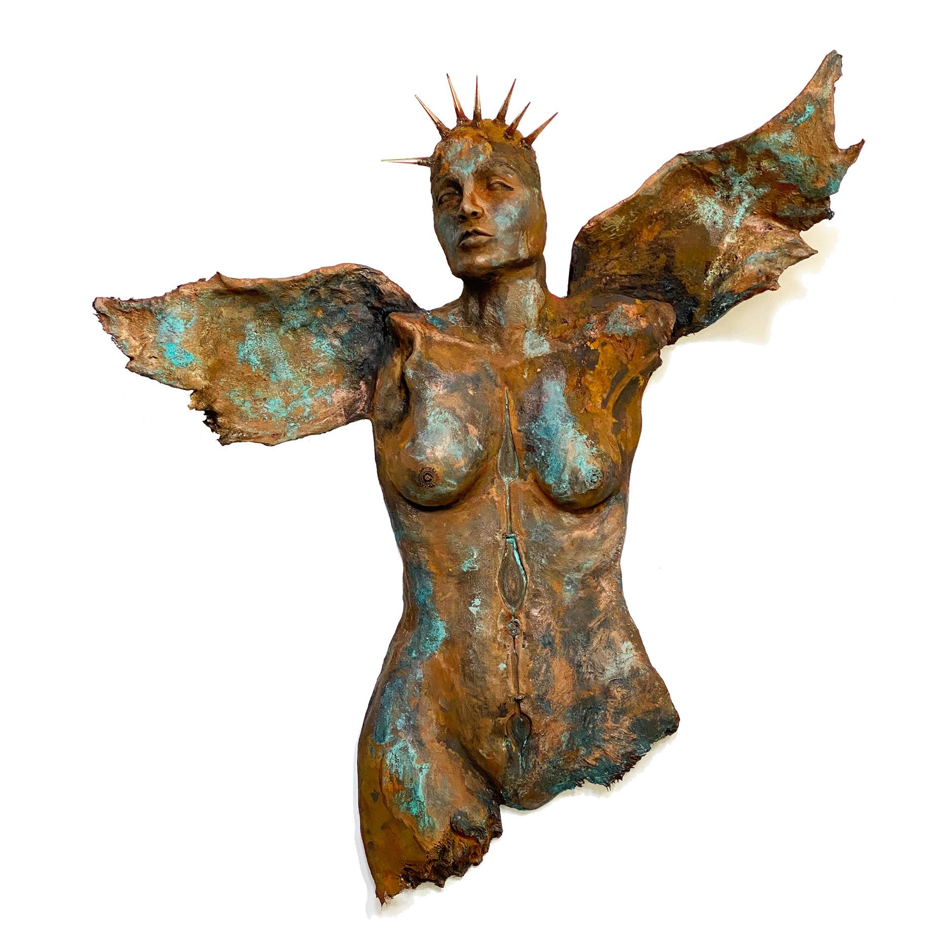 Angel Sculpture, Patience